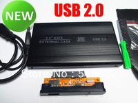 "USB 2.0 SATA 2.5"" HD HDD Hard Disk Drive Enclosure External Case Laptop"