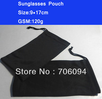 Size:9*17cm,100pcs/lot,120g,Sunglasses Pouch,Glasses/Eyewear Bag,Free Shipping