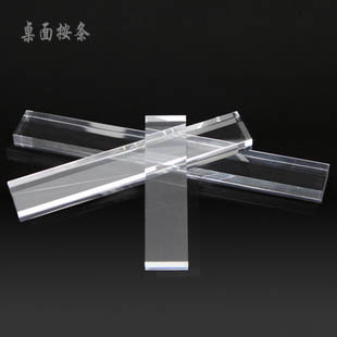 Desktop acrylic countertop transparent crystal bar 100 150 200mm piece set(China (Mainland))