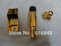 Wholesale-- (Selmer) Metal jazz alto saxophone mouthpiece gold-plated size 7