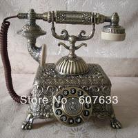The European telephone Paramount 1933 metal telephone antique telephone upscale metal phone