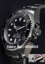 luxury Sea Dweller watch picture 116660 43 mm ceramic Sapphire Glass Men's mens watches for sale 116660VL wristwatches(China (Mainland))
