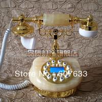Edith European telephone / the natural topaz telephone classical telephone / antique telephones