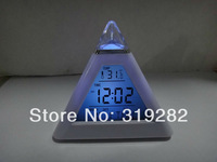 7 color changing colorful Digital LED clock Alarm   #nk042