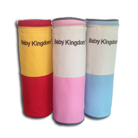 Babykingdom nappy bag insulation bag single bottle bag insulation bag heat preservation bucket three-color full