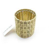 Jewelry fashion trend fashion vintage retro finishing carved elastic wide bracelet female
