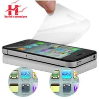 wholesale  Mobile phone screen protector for apple iphone 4s super clear  film free shipping  best selling