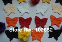 free shipping butteryfly  petal in wedding partyFree shipping 15 colors fabric rose petals wedding petals favors
