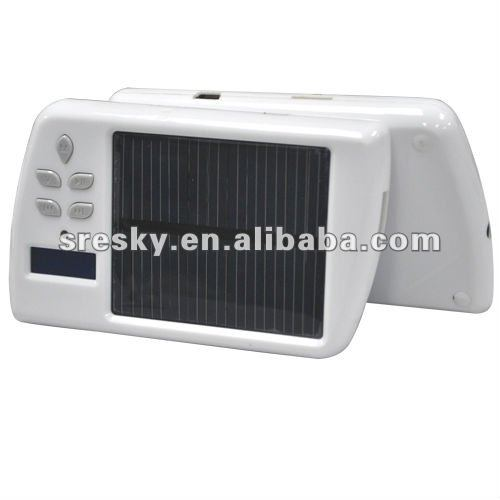 Portable solar 76mhz fm mini radio receiver radio manufacturer(China (Mainland))