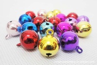 50PCS/Lot Wholesale Aluminum alloy Dog Pendant for Collar Cat ring Bell Dog Bell Free Shipping