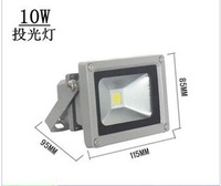 Free Shipping 10W 900LM LED Flood light Wash Lamp Outdoor Floodlight Cool|Warm White 85V-265V by fedex