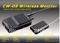 CW-03 Micro Wireless Audio Transmitter Taking Audio Function