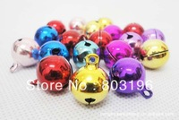 100PCS/Lot Free Shipping Pet Ring Bell Dog Pendant for Collar Cat Bell Several Colors