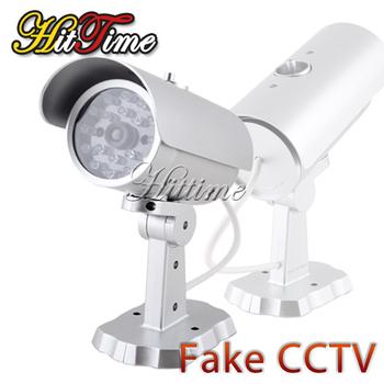 Fake Dummy Home Outdoor Surveillance Security Camera Motion Sensor Cam CCTV #11745