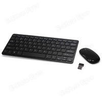 2.4GHz Wireless Desktop System Desktop Mouse and Keyboard Combo Kit free shipping