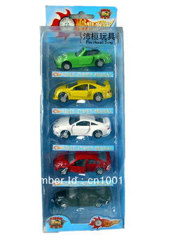 Toy car alloy car models sedan car toy set the door belt WARRIOR Children's birthday gift