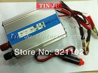 High quality 300W car power inverter DC 12V to 220v ac adapter USB charger supply MP3 1pcs