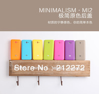 Back cover for xiaomi mi2,yellow blue pink beautiful color for mi2\s back case,back case for mi2