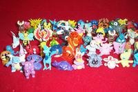 Pokemon figures many varieties 100pcs/set Anime Pokemon figurines PVC Children's toys Free shipping