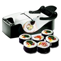 Easy Sushi Maker Roller equipment, perfect roll, Roll-Sushi with color box kitchen accessories 96pcs/lot Free Shipping