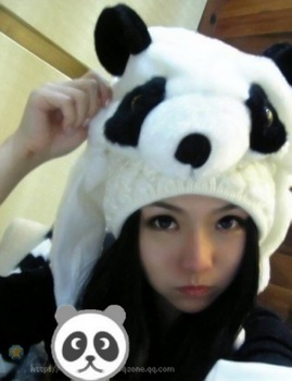 Free shipping  panda hat style Cartoon animal plush hat