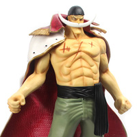 "Free Shipping (via EMS)  One Piece Edward Newgate with White Beard P.O.P POP Big Size 14"" PVC Action Figure Collection Model"