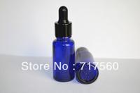10x15ML 1/2 OZ Cobalt Blue Glass Eye Dropper Bottles/Vials Enssential Oil Bottles/Sensitive Chemicals Storaging NEW & EMPTY