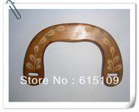 "FREE SHIPPING 6.15""*3.8"" laser flowers wooden bag frames"