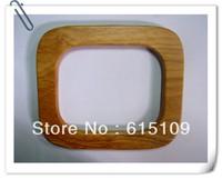 "FREE SHIPPING 5.9""*5.1"" solid wood wooden bag frames for woman handbag"