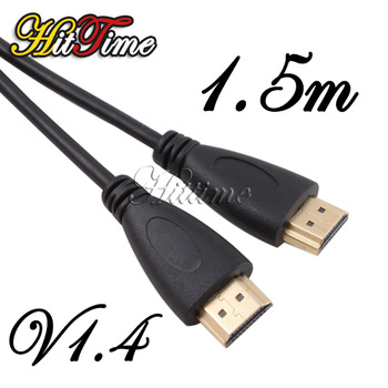 5Ft 1.5m HDMI V1.4 AV Cable High Speed 3D Full HD 1080P for DVD HDTV  #20191