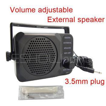 Mini External Speaker NSP-150v ham For Kenwood Motorola ICOM Yaesu Walkie talkie two way CB Ham Radio J0075A Alishow
