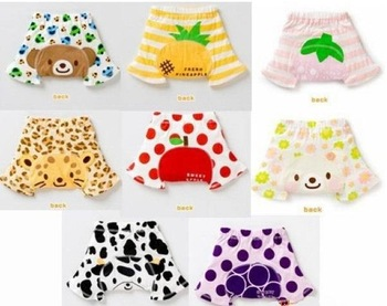 Free shipping CL3994 HOT Baby Boy Girl Children 100% Cotton 2pcs/ lot Summer Autumn Shorts pants 3-36 Months, S M L  Size