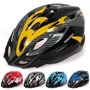 2013 the new ROSWHEEL Bicycle Helmet mountain bike riding helmet with LED light bicycle the split helmet riding equipment(China (Mainland))