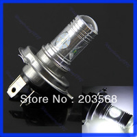 Free Shipping Super Bright Car Auto 20W LED H4 White DRL Day Driving Head Light Fog Bulb Lamp