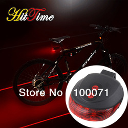 Bicycle Bike Cycling Led Laser Tail Light Safety Rear Warning Lamp [21959|01|01](China (Mainland))