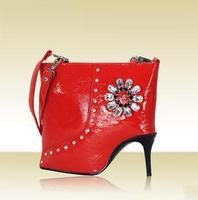 Hot Selling Women's Handbag/ Fashion Shoulder Bag/ Messenger Bag/ Amliya High-heeled Shoes Shaped Bag