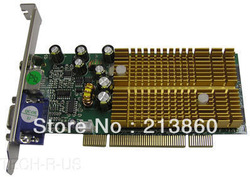 free shipping VIDEO-338PCI-128TV GeForce 6200 Graphics Card - 128MB DDR SDRAM HD-15(China (Mainland))