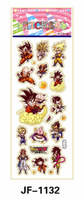 20 Sheets Combo Deal, Free shipping  TY0021 Dragon Ball Stickers, Soft Vinyl Plastic, Kids Cartoon Stickers Wholesale Price