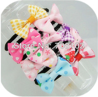 wholesale ,kids' headbands, baby hair clips, kids' hairclip, fashion hair accessories, girl hairpins Mixed color MIQ10USD