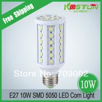Led Energy Saving Bulb Led Corn Light 5050 SMT 60 LED Light High Power 10W Screw-mount E27 Customize Free Shipping
