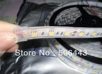 IP68 WARM WHITE color LED flexible strip,5050 SMD 60leds/m;DC12V input, can be used in the water