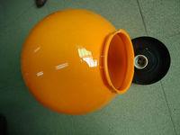 350mm pc lamp cover for outside garden lighting shade