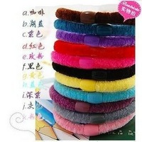 All-match line cotton headband hair accessory hair rope,100pcs/lot