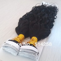 Malaysia Tape Hair Extension 5A #1,#1B,#2,#4 2.5g*40Pcs 100g/Pack Malaysia 15mm Curl Virgin Tape Hair Extension Low Shipping Fee