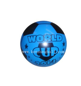 Wholesale-9inch 2014 word cup single color printed balloons for birthday party decoration and outdoor beach fun & sports