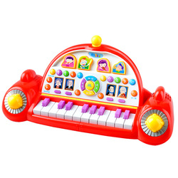 Polaroid infant toys music space ship electronic piano 3020 baby musical instruments toy 1 - 3 - 7(China (Mainland))