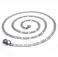 New arrival man 316L stainless steel link chain necklace for men,fashion jewerly Wholesale Free shipping 075163