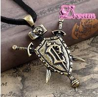 Free Shipping,Wholesale Human badge pendant, world of Warcraft,fashion jewelry Gothic necklace.man jewelry, 2108