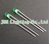 Free shipping 3mm Green Diffused LED LBT30G3D-ESA-B 2.9~3.5V 2000~4000mcd 60deg