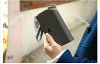 50PC/Lot DHL Free WM ALL IN ONE POUCH Style Wallet Flip Cover Case For iphone 5 4S 4G For Galaxy S2/S